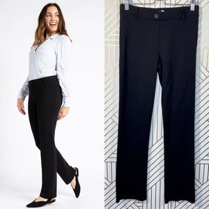 Betabrand Dress Pant Yoga Pants Straight-Leg